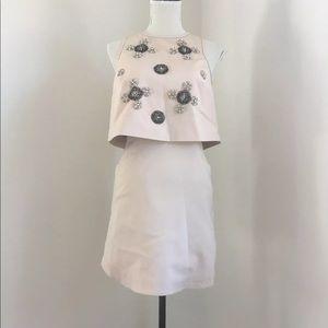 Tibi backless Mini Dress